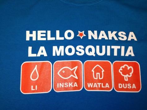 Honduras T Shirt Front